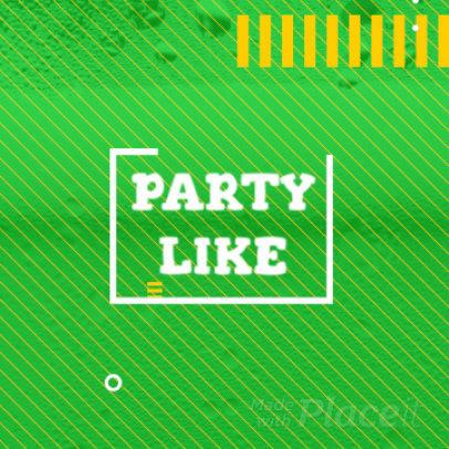 St. Patrick's Day-Themed Instagram Video Maker 900a  286