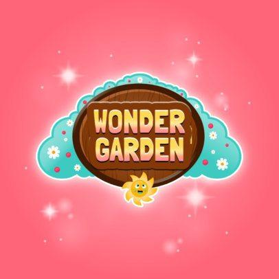 Fun Logo Maker for a Gardening Mobile Game 3007a