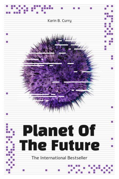 Book Cover Design Template for a Sci-Fi Novel 511-el1
