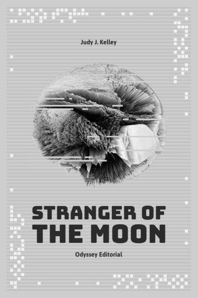 Book Cover Design Maker with a Sci-Fi Graphic 511c-el1