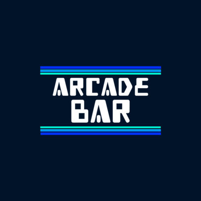8-Bit Logo Creator for a Gaming Bar 3062b