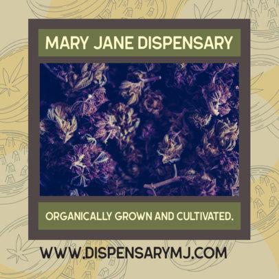 Facebook Post Maker for a Marijuana Dispensary  2375g