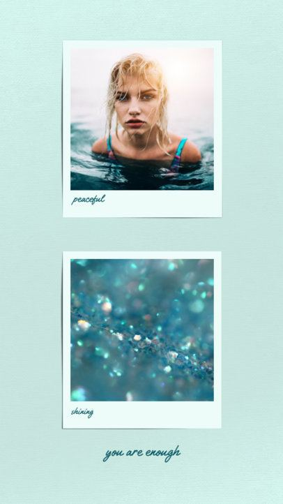 Instagram Story Maker with a Minimal Style and Clear Colors 694a-el1