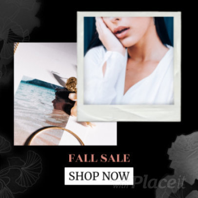 Instagram Post Video Maker for a Beauty Brand Season Sale 1578