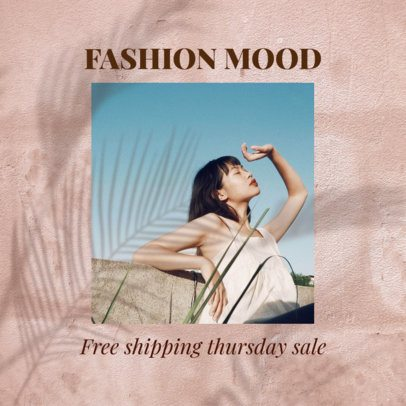 Instagram Post Template for a Spring Season Fashion Brand Collection 2456y