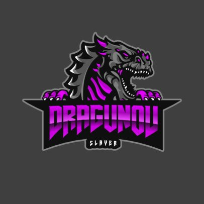 Gaming Logo Maker Featuring a Dragon Graphic 867g-el1