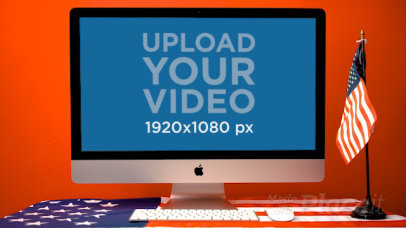iMac Video Featuring a 4th of July Setting 33788