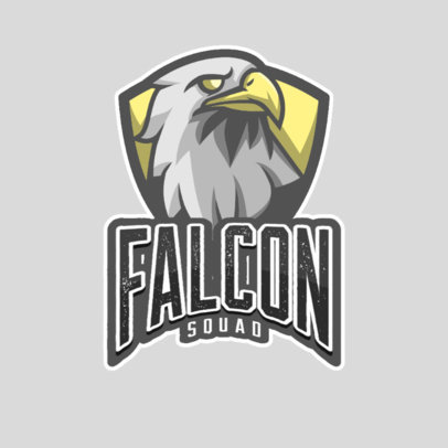 Logo Maker for an eSports Squad with a Falcon Graphic 1028d-el1