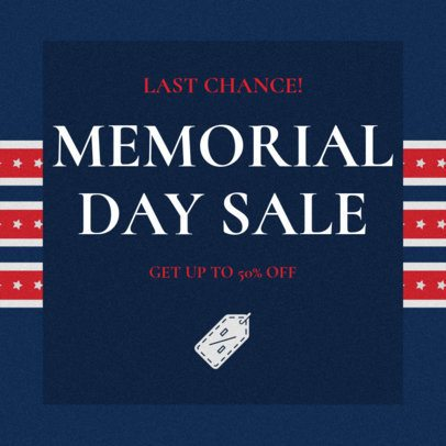Facebook Post Generator for a Memorial Day Sale 2486i