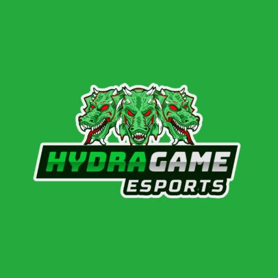 Gaming Logo Generator with a Hydra Monster 1217c-el1