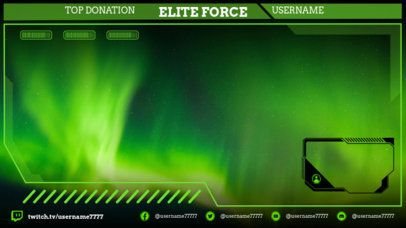 Twitch Overlay Maker Featuring Backgrounds of Video Games 2511