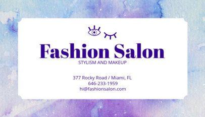 Business Card Maker for Makeup Artists 67e
