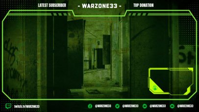 OBS Stream Overlay Maker for a War-Themed Streaming Channel 2511t