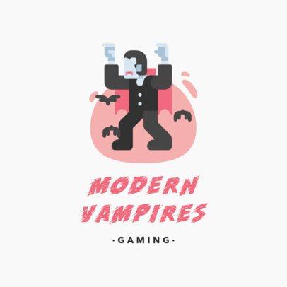 Gaming Logo Maker with Fun Fantasy Characters 1266-el1