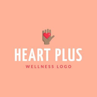 Healthiness Logo Creator for Wellness Centers 1303f-el1