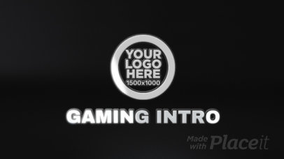 Intense Intro Maker for a Shooter-Theme Gaming Video 1704-el1