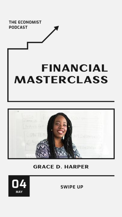 Instagram Story Creator for a Financial Masterclass 1366b-el1