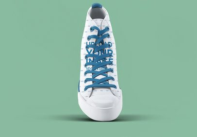 Mockup of a Single Sneaker with a Customizable Background 3270-el1