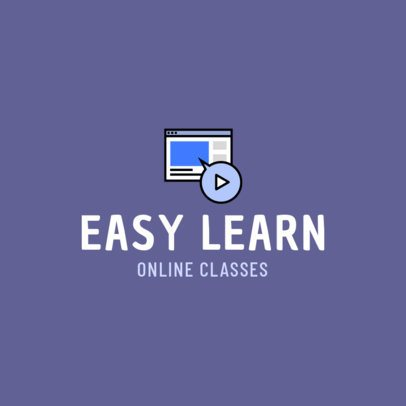 Logo Template for Online Education Services 1500a-el1