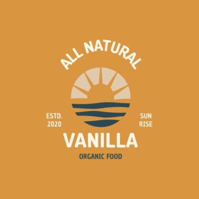 Logo Maker for a Company of Organic Food 1602e-el1