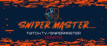 Facebook Cover Maker for Gaming Hacks Featuring a Shooter with a Sniper Graphic 2560f
