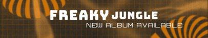 Bandcamp Header Maker to Share a New Album Notice 2600l