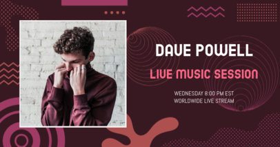 Facebook Post Generator for a Live Music Session 2603b