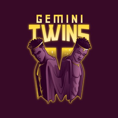 Gaming Logo Generator with Gemini Twins 3348g