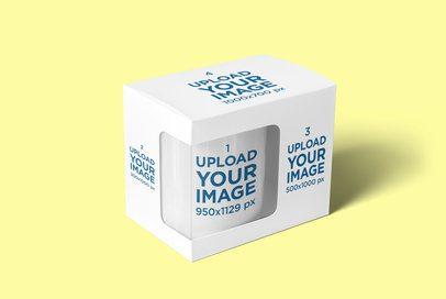Mockup Featuring an 11 oz Mug Inside a Box 4485-el1