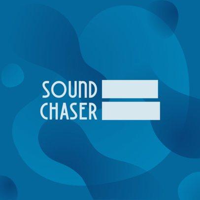 Elegant Typographic Logo Maker for a Musician 3392f
