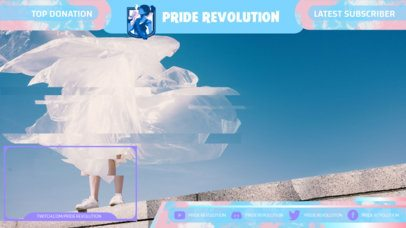 Twitch Overlay Creator with an LGBTQ Theme 2669i