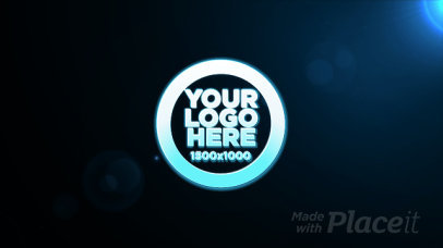 Intro Maker with an Animation of Particles Forming a Logo 740-el1
