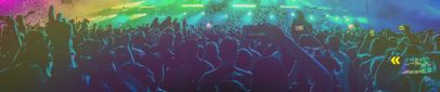 Soundcloud Banner Maker Featuring a Photo of a Concert 2730c