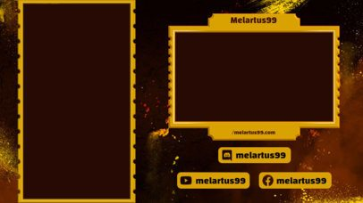 Twitch Overlay Generator Featuring a Portrait Position Screen 2729h