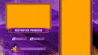 Twitch Overlay Generator for a Dazzling Gamer 2727g