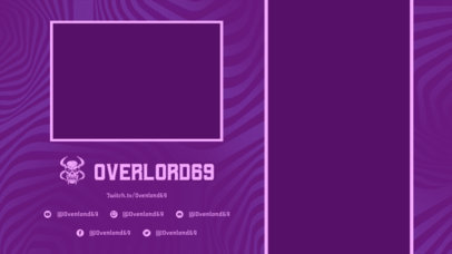 Twitch Overlay Generator with Neon Colors for Mobile Gamers 2728c