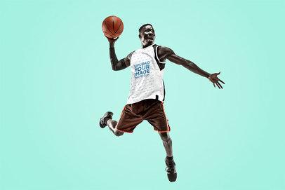 Tank Top Mockup of a Basketball Player Jumping 38993-r-el2