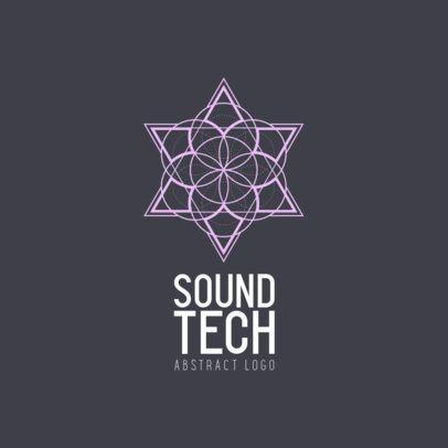 Abstract Logo Creator for a Sound Technician 2439c-el1