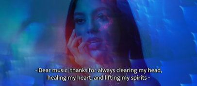 Facebook Cover Template Featuring Music-Related Subtitles 2794e