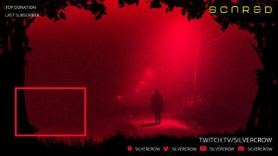 Twitch Overlay Creator Featuring a Spooky Horror Game Setting  2795a