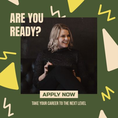 Ad Banner Template for an MLM Job Recruitment 2901k