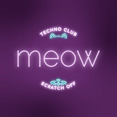 Cool Logo Generator for a Techno Club 3632h