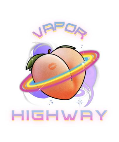 Urban-Style T-Shirt Design Maker Featuring a Psychedelic Peach Illustration 2941c