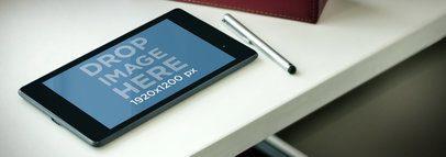 Nexus 7 Black Landscape In Workstation Wide