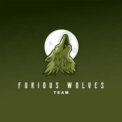 Free Logo Maker for a Fierce Gaming Team 3693b