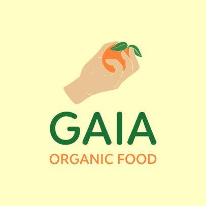 Logo Generator for an Organic Food Marketplace 3696u