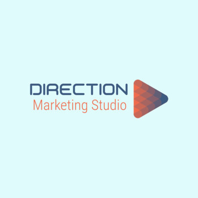 Abstract Logo Maker for a Marketing Agency 3696s