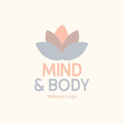 Minimalist Logo Creator for a Wellness-Related Service 3696x