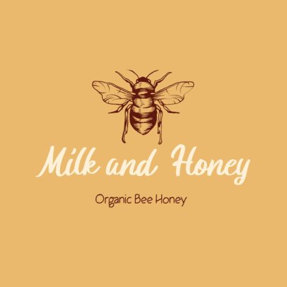Free Logo Generator for an Organic Honey Brand 3696d