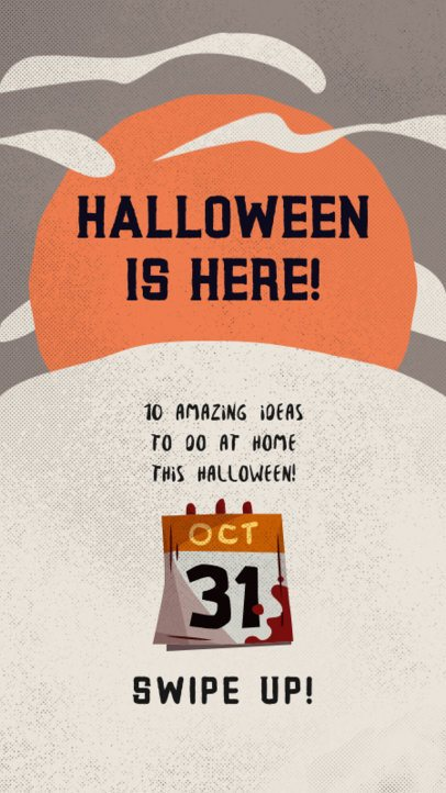Instagram Story Maker for Halloween Ideas to do at Home 2953c-el1